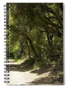 Pathway To Somewhere Spiral Notebook