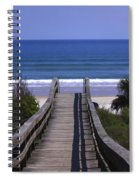 Pathway To The Beach Spiral Notebook