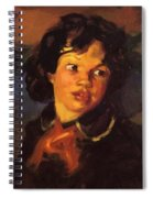 Patience 1915 Spiral Notebook