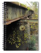 Patina Pulley Spiral Notebook