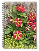 Patio Container Garden Spiral Notebook