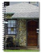 Patriotic Chert Home Spiral Notebook