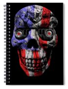 Patriotic Jeeper Cyborg No. 1 Spiral Notebook