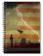 Patriotic Operation Desert Storm Spiral Notebook