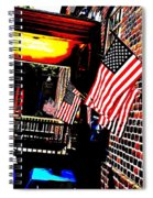 Patriotic Tavern Spiral Notebook