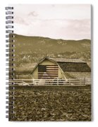 Patriotism And Barn Spiral Notebook