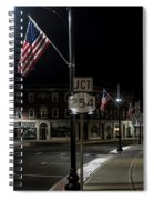 Patriotism In A Small Town Spiral Notebook