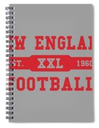 Patriots Retro Shirt Spiral Notebook