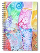 Pattern And Form I Spiral Notebook