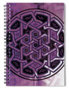 Pattern Art 0014 Spiral Notebook
