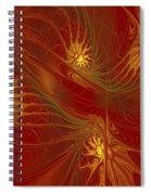 Pattern Of Elegance Spiral Notebook