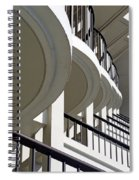 Patterned Balconies Spiral Notebook