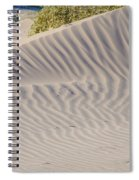 Patterns In The Sand Spiral Notebook