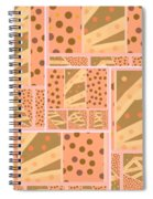 Patterns Of Finding Solace 200 Spiral Notebook