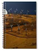 Patterson Pass Wind Farm Spiral Notebook