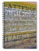 Patterson Spiral Notebook