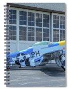 Paul 1 P-51d Mustang Spiral Notebook