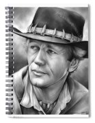 Paul Hogan Spiral Notebook