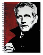 Paul Newman Spiral Notebook