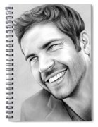 Paul Walker Spiral Notebook