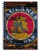 Paulaner Beer Sign  Spiral Notebook