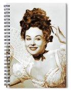 Paulette Goddard, Hollywood Legend Spiral Notebook