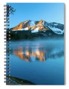 Paulina Peak In Paulina Lake Spiral Notebook