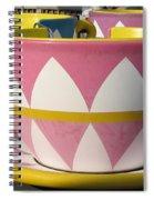 Pavilion Tea Cups Spiral Notebook