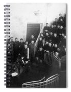 Pavlov In Lecture Theater, 1904 Spiral Notebook