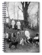Pavlovs Dogs With Their Keepers, 1904 Spiral Notebook