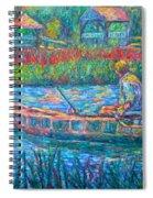 Pawleys Island Fisherman Spiral Notebook