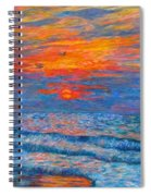 Pawleys Island Sunrise In The Sand Spiral Notebook