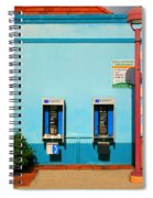Pay Phones Spiral Notebook