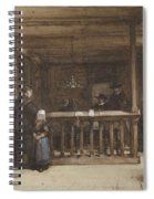 Payday, The Ships Room Right House Nieuw-loosdrecht, Furnished With Seventeenth-century Figures, Joh Spiral Notebook