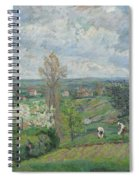 Paysage D'ile De France By Armand Guillaumin Spiral Notebook