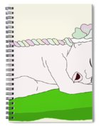 Pea In A Pea Pod Spiral Notebook
