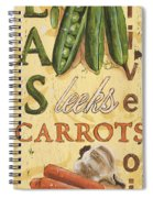 Pea Soup Spiral Notebook