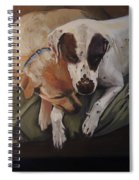 Peace And Comfort Spiral Notebook