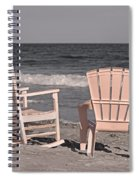 Peace And Purpose Spiral Notebook