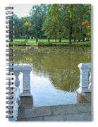 Peace By The Lake Spiral Notebook