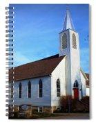 Peace Church Spiral Notebook