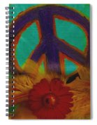 Peace Every Day Spiral Notebook