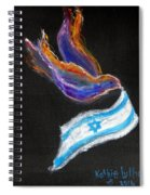 Breakthrough Peace For Israel Spiral Notebook