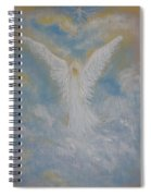 Peace From An Angel  Spiral Notebook