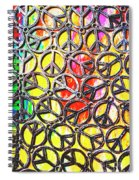 Peace In All Colours Spiral Notebook