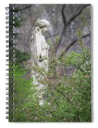 Peace In Eternal Prayer Spiral Notebook