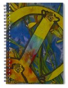 Peace In The Nature Spiral Notebook