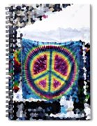 Peace In The Streets Spiral Notebook