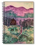 Peace In The Valley Spiral Notebook