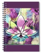Peace, Love, Lotus Spiral Notebook